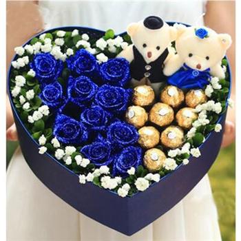 巧克力花盒-至爱至情