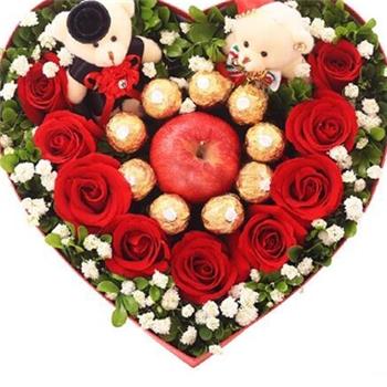 巧克力花盒-圣诞情怀