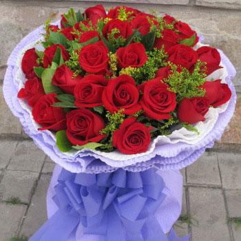 红玫瑰花束-甜蜜的爱恋